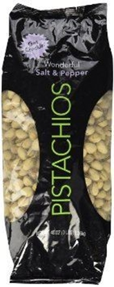 Picture of WONDERFUL SALT&PEPPER PISTACHIOS