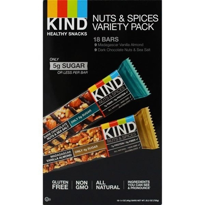 Picture of KIND BARS NUT&SPICES VARIETY