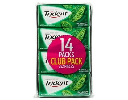 Picture of TRIDENT SPEARMINT BONUS PACK