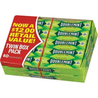 Picture of WRIGLEY DOUBLEMINT TWIN PACK