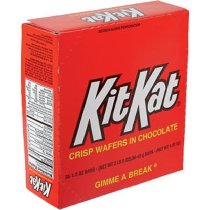 Picture of Kit Kat Chocolate Wafers Candy Bar 36CT