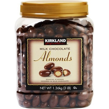 Picture of Kirkland|signature chocolates almonds 3LBS
