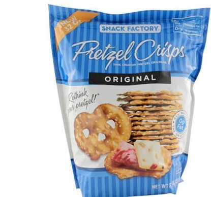 Picture of SNACK FACTORY ORIGINAL PRETZEL CRISP