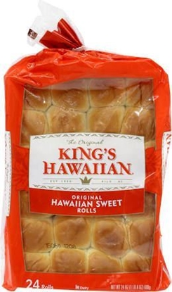 Picture of KING'S HAWAIIAN SWEET ROLLS 32 (rolls)