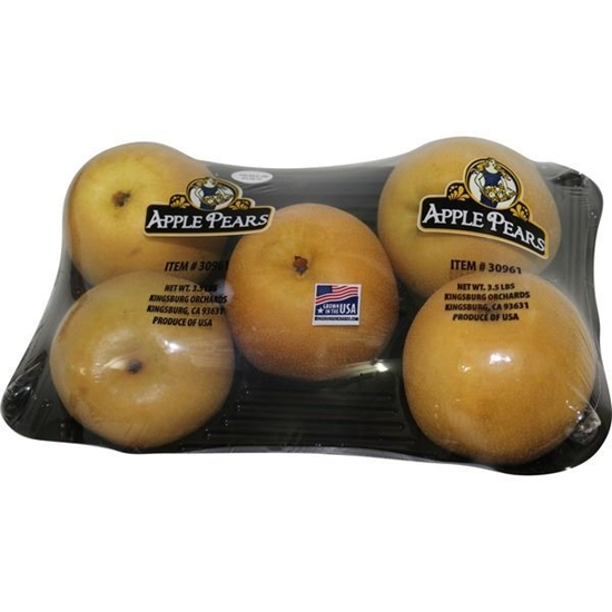 Picture of APPLE PEARS 3.5lb/pack