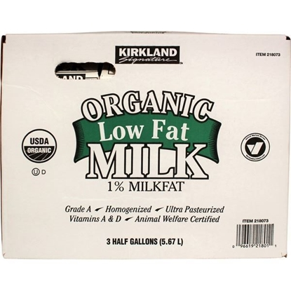 Picture of Kirkland Signature Organic Low Fat 1% Milk
