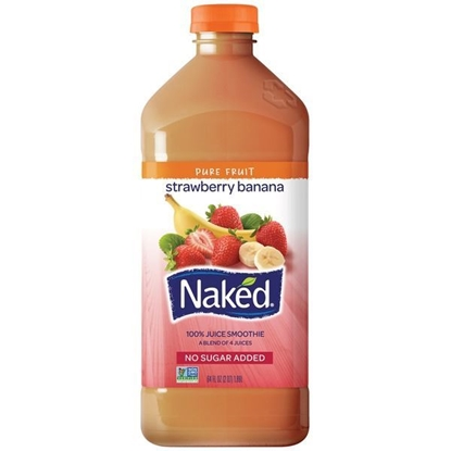 Picture of Naked Strawberry Banana Juice Smoothie