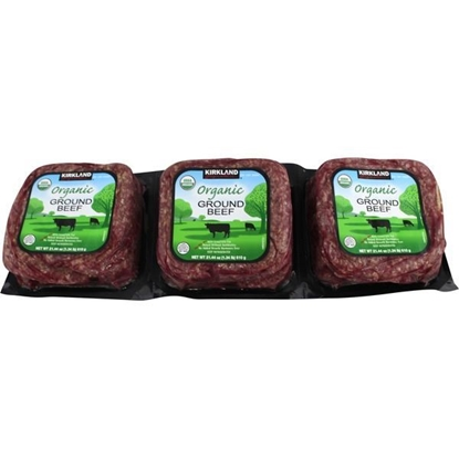 Picture of Kirkland Signature Organic Ground Beef