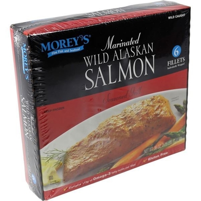 Picture of Morey's Wilk Alaskan Marinated Salmon