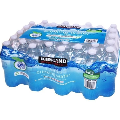Picture of Kirkland Signature Premium Bottled Drinking Water