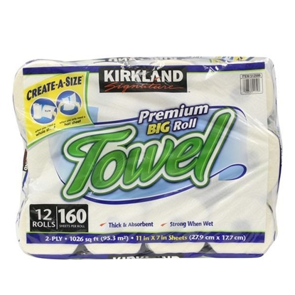 Picture of Kirkland Signature Create A Size Paper Towels