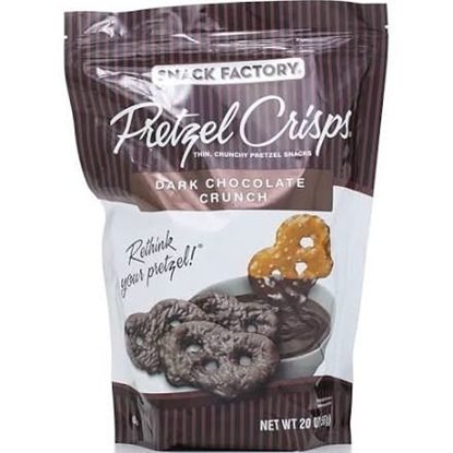 Picture of Snack Factory Dark Chocolate Pretzel Crisps