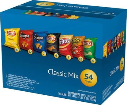 Picture of Frito Lay Variety Pack 54 Count Box