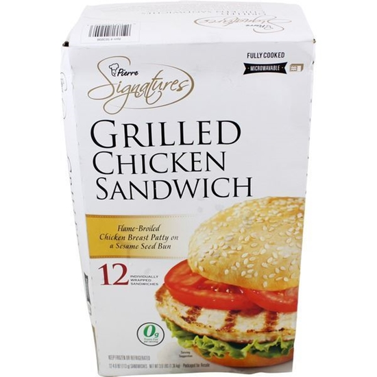 Picture of Advance Pierre Signatures Grilled Chicken Sandwich