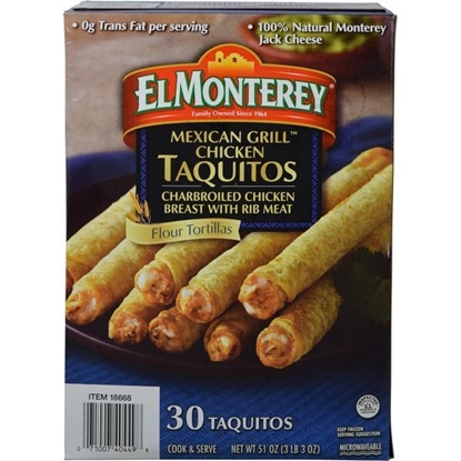 Picture of El Monterey Grilled Chicken Taquitos
