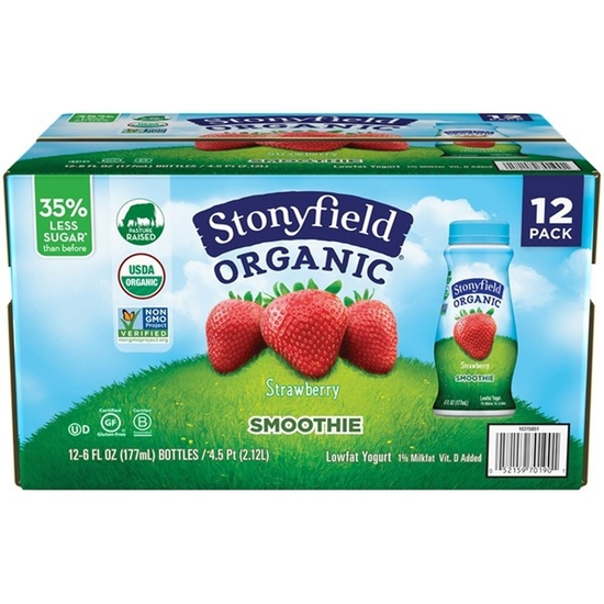 Picture of Stonyfield Organic Organic Strawberry Smoothie