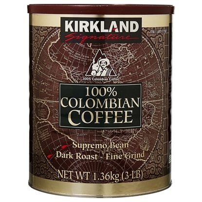 Picture of Kirkland Signature 100% Colombian Coffee (大罐装)