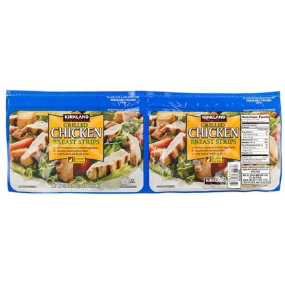 Picture of Kirkland Signature Grilled Chicken Strips, 16 oz