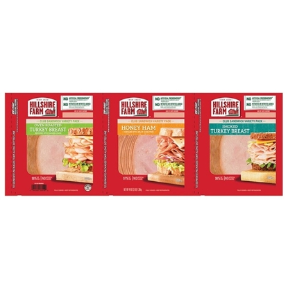 Picture of Hillshire Farm Lunch Meat Variety Pack
