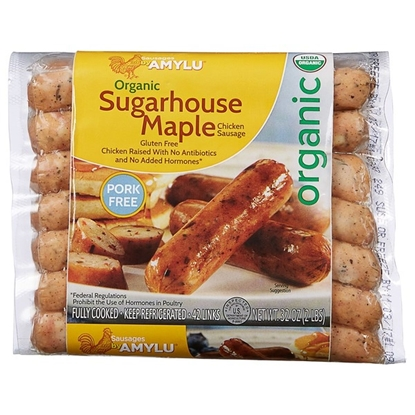 Picture of Amy Lu Organic Sugarhouse Maple Chicken Sausage 32oz