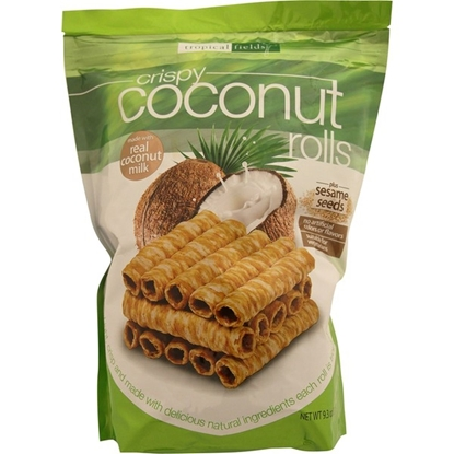 Picture of TROPICAL FIELDS CRISPY COCONUT ROLLS
