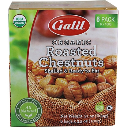 Picture of Galil Organic Roasted Chestnuts