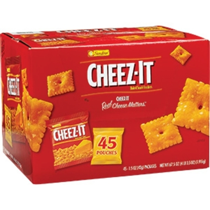 Picture of Cheez-It Original Baked Snack Crackers (45ct)
