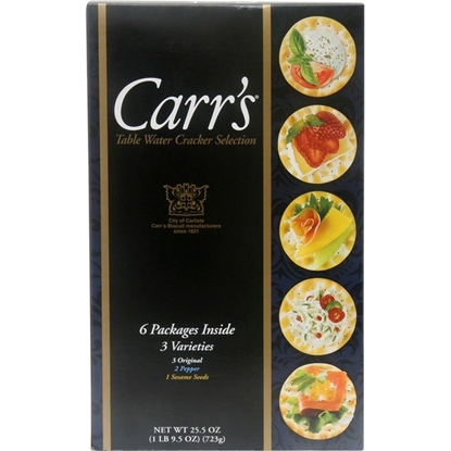 Picture of Carr's Table Water Cracker Selection Variety