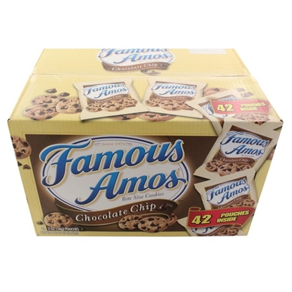 Picture of Famous Amos Chocolate Chip Bite Size Cookies (42pack)
