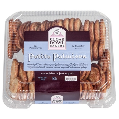Picture of Sugar Bowl Bakery Petite Palmiers Cookies